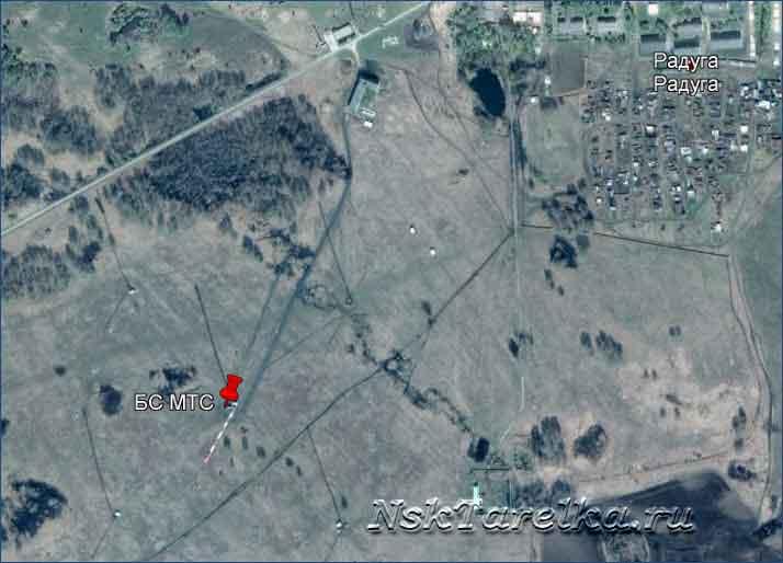 Поселок Радуга — базовая станция МТС