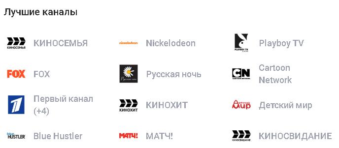 НТВ Плюс Восток Пакет Базовый Плюс лучшие каналы