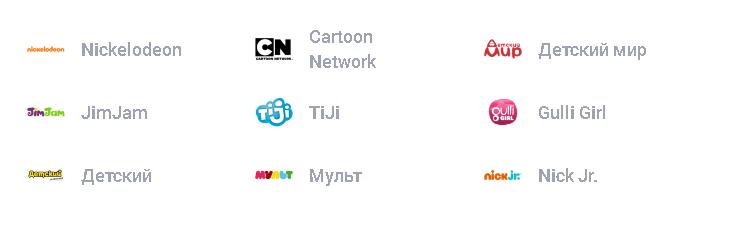 Детский пакет каналы НТВ Плюс Восток