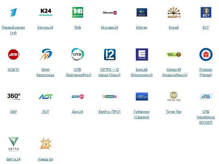 Региональные каналы Лидер